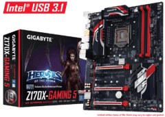 MOTHER 1151 Gigabyte GA-Z170X-Gaming 5