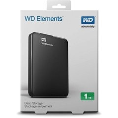 DISCO EXTERNO 1Tb USB 3.0 WD Western Digital Elements