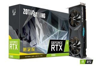 PLACA DE VIDEO NVIDIA GEFORCE RTX 2080 8GB DDR6 ZOTAC GAMING