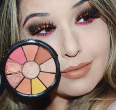 Mini Paleta Sombras Sunset Ruby Rose - Lojinha