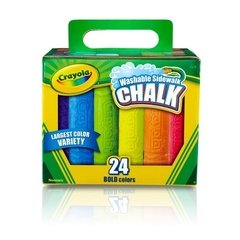 Tiza Color Lavable Crayola en Caja x 24