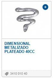 Pintura Dimensional 3D Metalizada 40ml