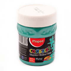 Tempera Maped Metalizada Pote x 200g en internet