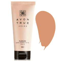 Avon True Color Flawless Base Líquida Matte FPS 15 - Bege