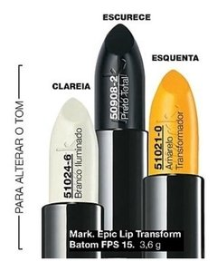 Avon Mark. Epic Lip Transform Batom FPS 15 - Amarelo Brilhante - comprar online