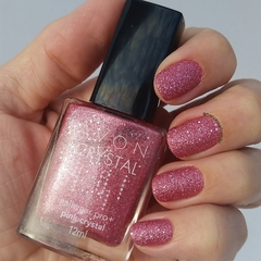 Avon Esmalte Crushed Crystals Pink Cristal