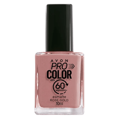 Avon Esmalte Pro Color 60' - Rose Gold