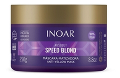 Inoar Máscara Capilar Absolut Speed Blond 250g - comprar online