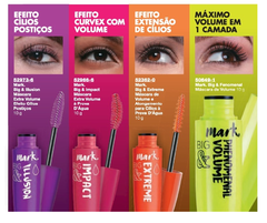 Avon Mark. Big e Impact Waterproof Máscara Extra Volume à prova d'água - Preto na internet
