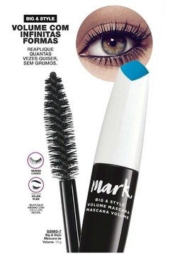 Máscara para Cílios Avon Mark. Big Style máscara de Volume - Natimus Beauty