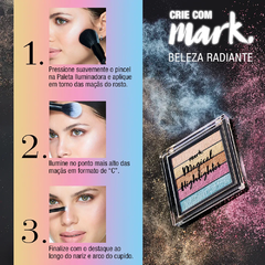 Avon Mark. Magical Highlighter Paleta Iluminadora - comprar online