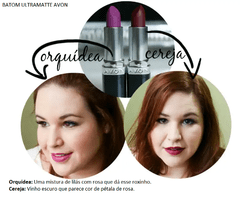 Avon True Color Batom Ultramatte - Orquídea na internet
