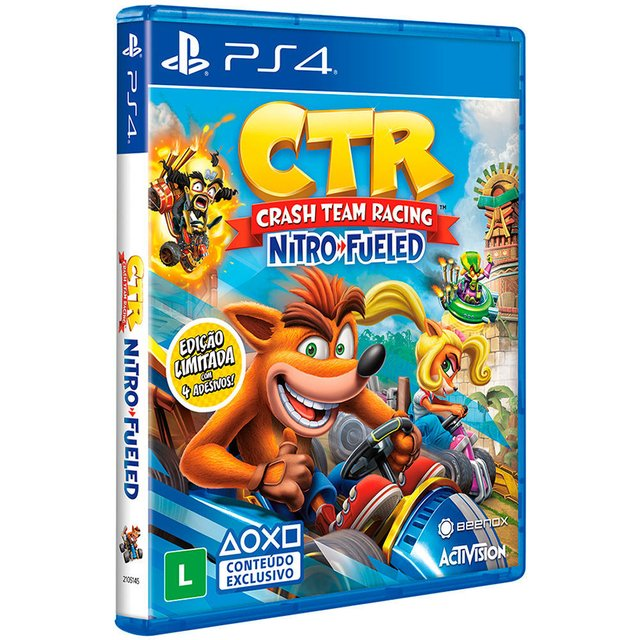 CRASH CTR NITRO FUELED PS4