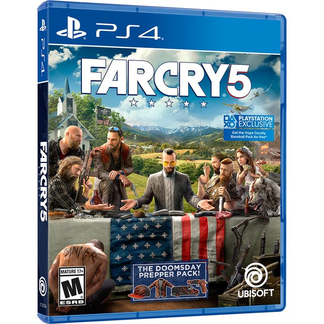 FAR CRY 5 - JOGO PS4