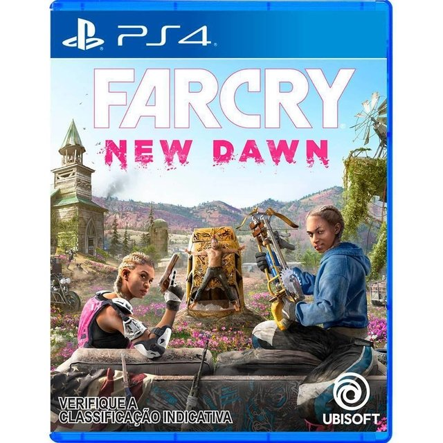 FARCRY NEW DAWN-GAME PS4