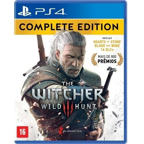 THE WITCHER 3 WILD HUNT- COMPLETE EDITION-GAME PS4