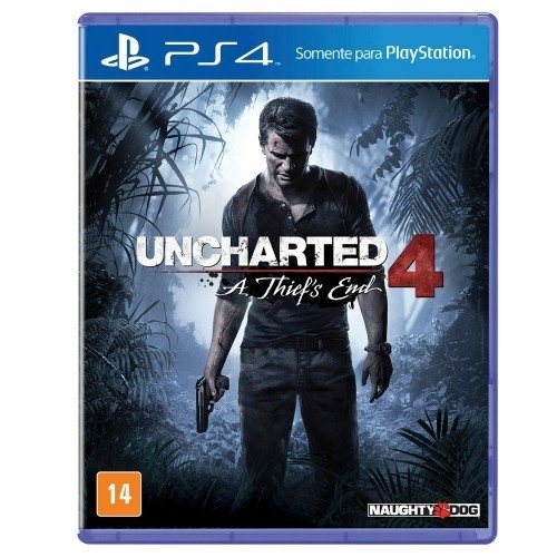 UNCHARTED 4-GAME PS4