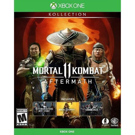 MORTAL KOMBAT 11 - AFTERMATH - Collection - JOGO PS4