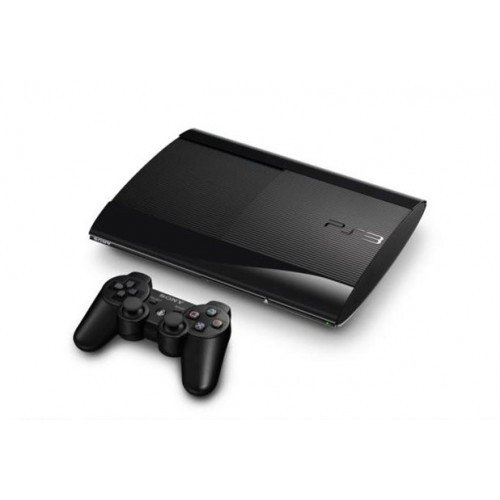 PLAYSTATION 3 SUPER SLIM 500GB - 1 CONTROLE (SEMI-NOVO)