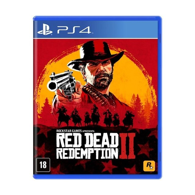 RED DEAD REDEMPTION 2 -GAME PS4