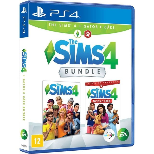 THE SIMS 4 BUNDLE-GAME PS4