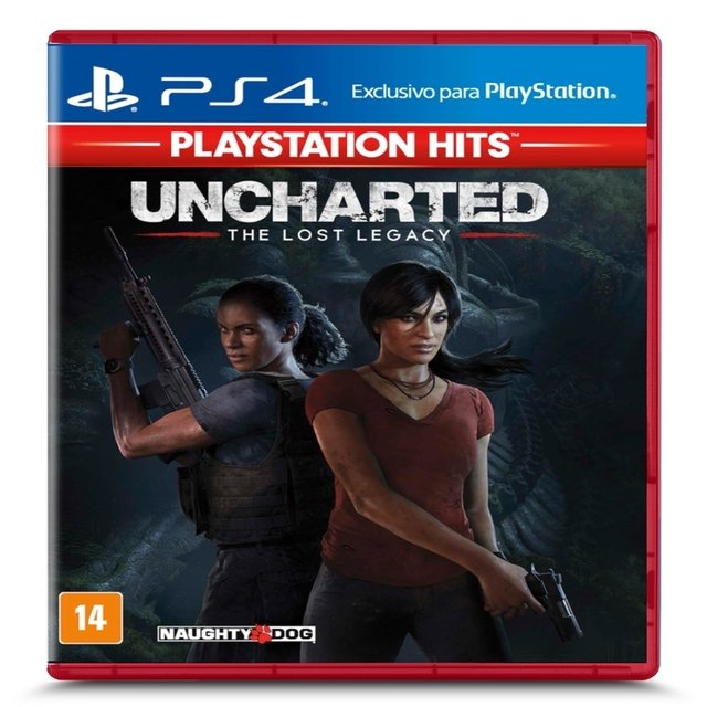UNCHARTED THE LOST LEGASY PS4