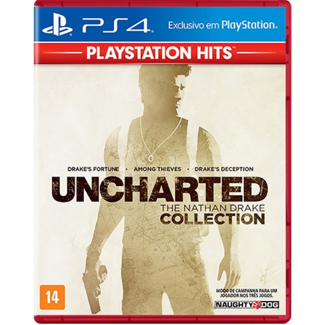 UNCHARTED- THE NATHAN DRAKE COLLECTION - GAME PS4