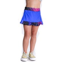 Art 3101 Short Pollera Florcitas Kids