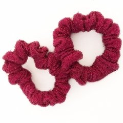 SCRUNCHIE MINI MESH MAGENTA
