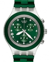 SWATCH GREEN SVCK 4043AG CHRONO.