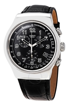 SWATCH IRONY HOMBRE YOS440  YOUR TURN BLAKC CHRONOGRAPH