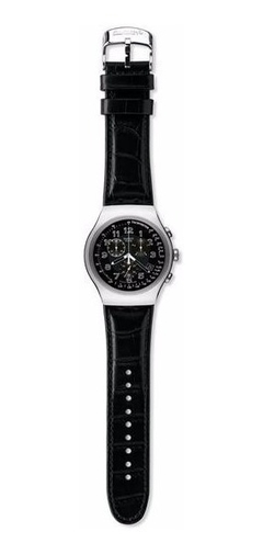 SWATCH IRONY HOMBRE YOS440  YOUR TURN BLAKC CHRONOGRAPH - comprar online