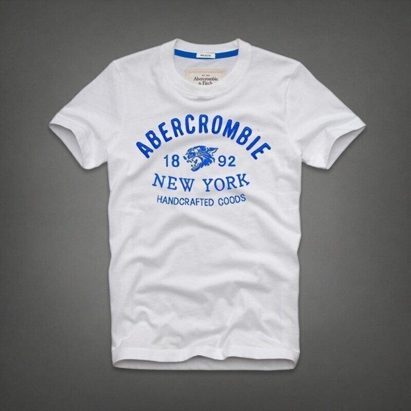 42e22f57fc Camiseta Abercrombie   Fitch New York Branca - Denvike