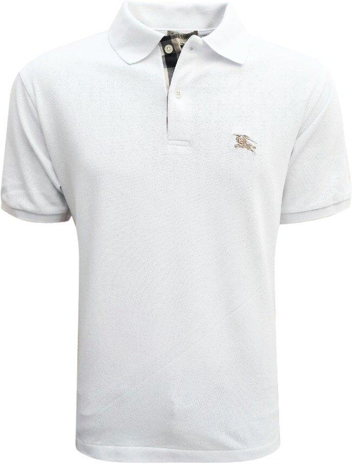 ... Camisa Polo Burberry Branca. Esgotado. 62%. OFF 8ff195a574e