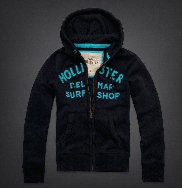 96f78d1480 Moletom Hollister Surf Shop Preto - Comprar em Denvike