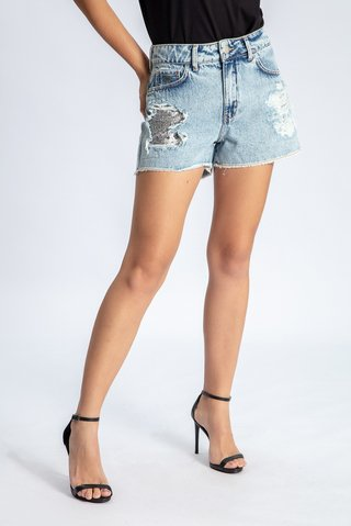 Short Jeans Taylor Destroyed - comprar online