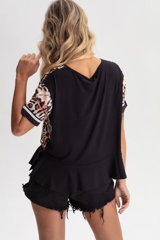 Camiseta Estampa Animal Print - comprar online