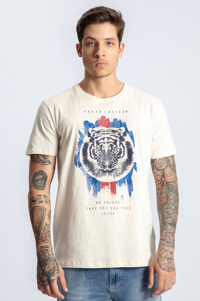 Camiseta Urban Estampa Tigre