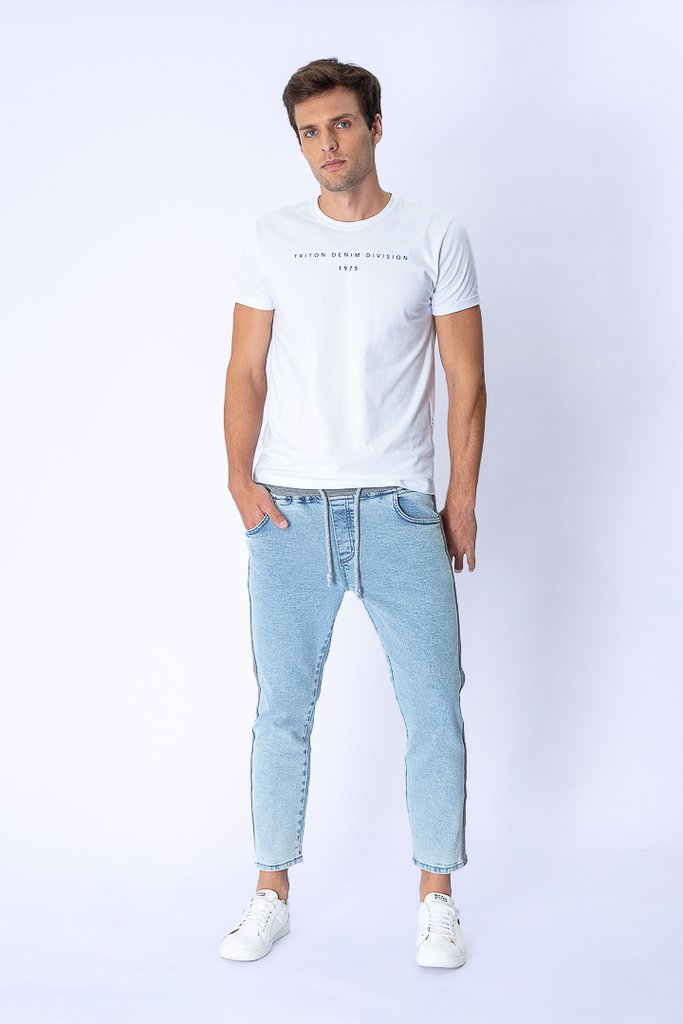 Calça Jeans Urban Style Cropped