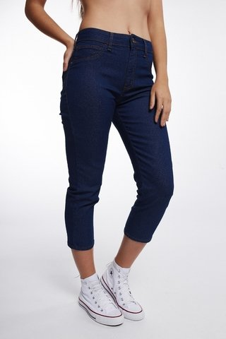 Calça Jeans Michelle High Capri