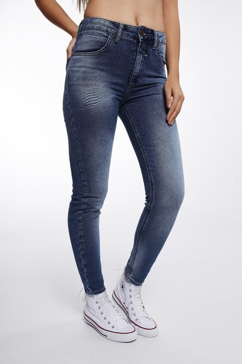 Calça Jeans Michelle High Cropped