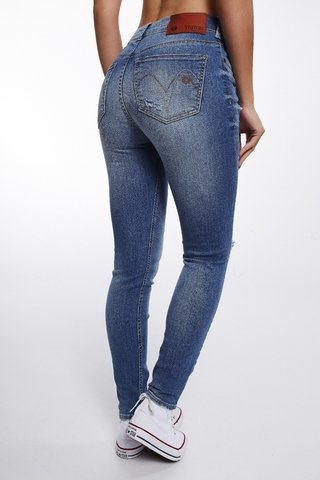 Calca Jeans Michelle High Cropped - comprar online
