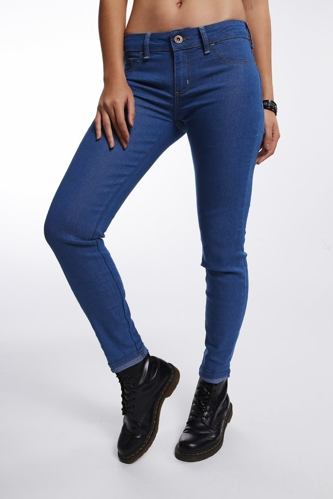 Calça Jeans Riva mid Cropped