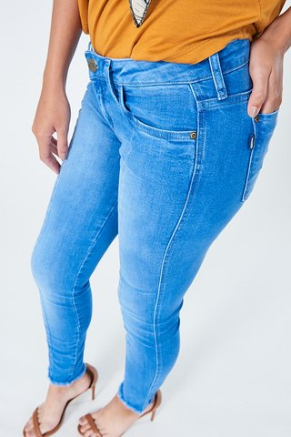 Calça Jeans Riva low Cropped na internet