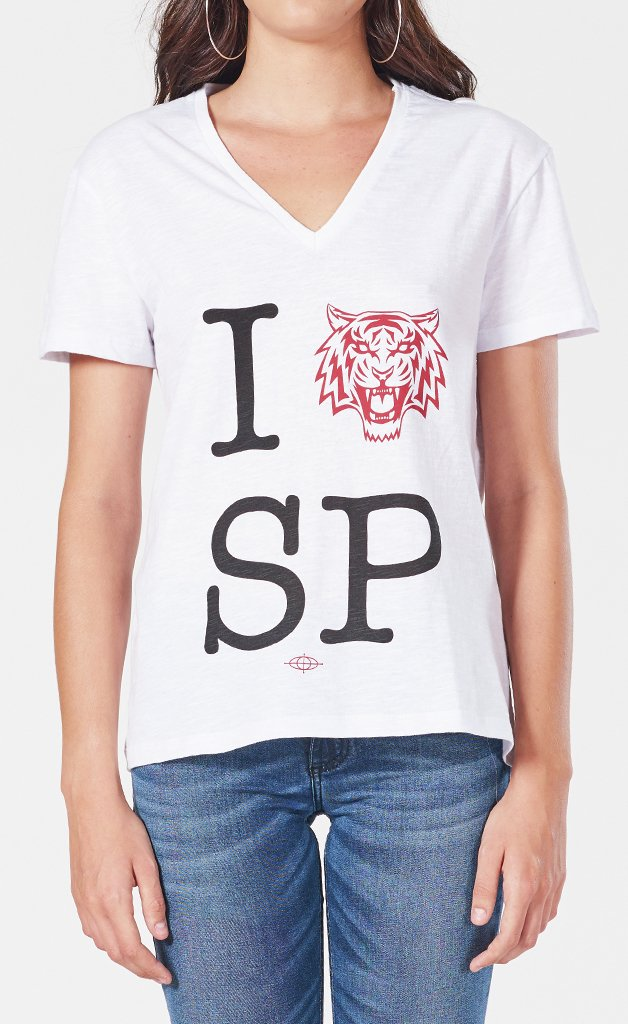 T-shirt Estampada Love sp