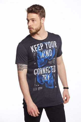 Camiseta Estampada Keep Your Mind