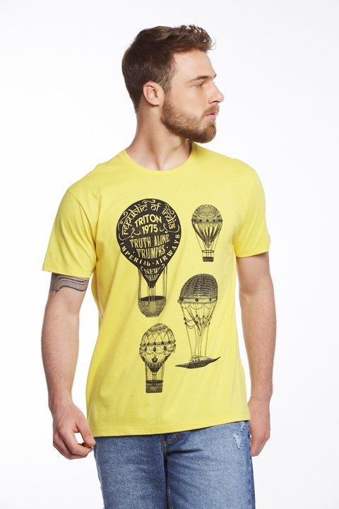 Camiseta Estampada Ballon
