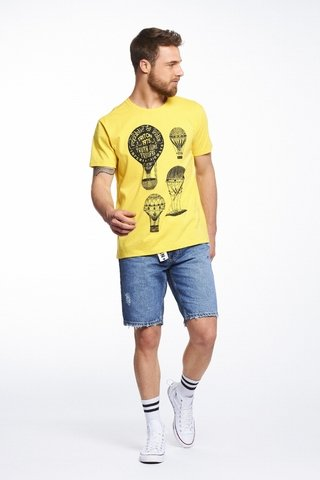 Camiseta Estampada Ballon na internet
