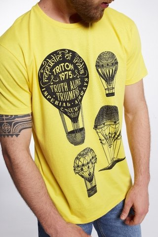 Camiseta Estampada Ballon - SHOP TRITON OFICIAL