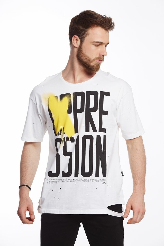 Camiseta Estampada Pression